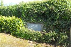 Ireland, Knockainey, plaque at Frank Ryan family home