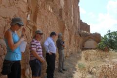 Spain, Belchite, S. Augustin, destroyed cloisters
