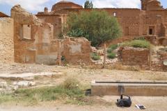 Spain, Belchite, S. Augustin, fascist strongpoint slaughter house