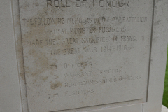 WW1 Tours, Extreux, Munsters' memorial 1