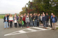 WW1 Tours, Fromelles, Vienna students, Sept. 2017