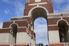 WW1 Tours, Somme, Thiepval Memorial